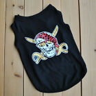 Summer Action Skull Small Dog Cat Pet Puppy Clothes Vest Apparel Clothes Type 9