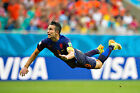Robin Van Persie - World Cup 2014 - A1/A2 Size Poster Print