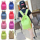 Cute Women's Round Spot Travel Satchel Shoulder Bag Backpack School Rucksack UK