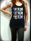 Supernatural Fight Sam Dean Winchester Womens Black Tank Top Sleeveless T Shirt