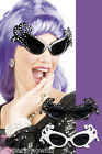 DAME EDNA STYLE GLASSES BLACK OR WHITE HELLO POSSUMS FANCY DRESS ACCESSORY