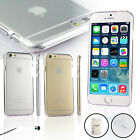 Slim Cristal Clear Transparent  Cover Case For iPhone 6 6S With Touch Pen