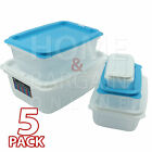 FOOD STORAGE CONTAINERS EASY STORAGE LUNCH BOX DURABLE PORTABLE UNBREAKABLE HOME