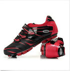 Mens Cycling Road Bike Racing Shoes Lace Up Sport Sneakers Comfortable Plus Size