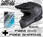 509 ALTITUDE SNOWMOBILE HELMET BLACK OPS SNOWMOBILING EVOLUTION 2015 with DVD