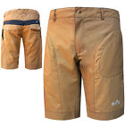Mens MTB Shorts Cycle Downhill Cyling  Road Shorts + Inner Shorts Padded