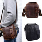 ZA0001 Men's Leather bag Waist Bag Fashion new Shoulder Bag Messenger small Bag