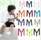 Внешний вид - Adjustable Brace 1PCS Children Kids Boy Girls Toddler Clip-on Suspenders Elastic