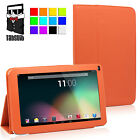"Tabsuit PU Leather Case Stand Cover For 9"" Android Tablet PC iRulu Dragon Touch"
