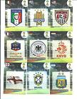 2014 PANINI ADRENALYN FIFA WORLD CUP BRAZIL CHOOSE ANY TEAM LOGO/CREST CARDS