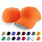Kyпить Plain Fitted Curved Visor Baseball Cap Hat Solid Blank Color Caps Hats - 9 SIZES на еВаy.соm