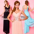 New Formal Bridesmaid Bodycon Ball Gown Prom Homecoming Long Sexy Evening Dress