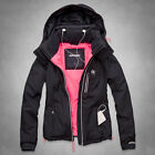 NWT New Abercrombie Fitch All Season Weather Warrior Womens Jacket Navy Size M