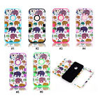 Elephants Hybrid PC Silicone Shock Dirt Proof Back Case Cover For 4.7'' iPhone 6