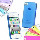 Ultra Slim Soft Gel Silicone Case Cover for Apple iPhone 4S 4