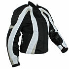 LadiesWomens Textile Motorcycle Jacket  Zip Out Liner-Great For All Seasons