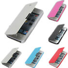 """New Magnetic Flip Leather Hard Back Case Cover For Apple iPhone 6 4.7"""" Plus 5.5"""""""