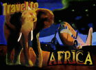 118 Vintage Travel Poster Travel To Africa
