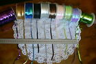Opal Sequin String 10 Colours - 6mm wide 5 Metres Lengths Green Tara MultiList