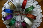 String Metallic 11 Colours 5; 8 & 10 Metre Lengths 2-3mmWide May Arts MultiList