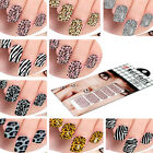 US 12 Style Nail Art Sticker Foils Design Decoration Tips Decals Beautiful