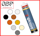 Low Modulus Neutral Silicone Sealer Soudal White,Black,Brown,Clear,Cream,Stone