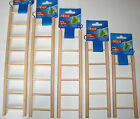 Wooden Bird Ladder Budgie Canary Hamster Rodent Cage Ladders In 5 Size's