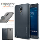 (in Stock) Genuine Spigen Soft TPU Capsule Case Cover for Samsung Galaxy Note 4