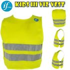 Yellow Hi Viz Vis Vest New High Visibility Waistcoat Safety Reflect Suit Jacket