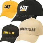 Caterpillar Hats Men CAT Trademark Stretch Fit Logo Cap Cotton/Spandex Fitted