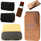 Stylish Leather Vertical / Horizontal Pouch Belt Clip Cover For Nokia