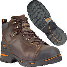 """Timberland PRO Work Boots Mens Endurance 6"""" Steel Toe Leather Boots 52562 Brown"""