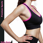 Homma Pro Racerback Tank Top Athletic Wire Free Gym Fitness Sports Yoga Bra