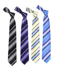 Strobed Microfiber Poly Woven Tie (MPW5231)