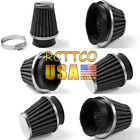 6 Size Inner Diameters New Motorcycle Intake Air Filter For GSXR 600 750 1000 $5.38 USD