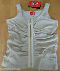 No added sugar girl vest golden top  3-4 y BNWT designer