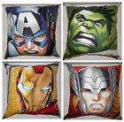 "MARVEL COMICS AVENGERS - INDIVIDUAL 18"" CUSHIONS OR A WHOLE SET"