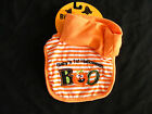 NEW GIRLS  HALLOWEEN BABY FEEDING BIB BABY'S FIRST HALLOWEEN AND HAT SET