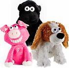 Talking Pig Soft Toy Monkey Ape Dancing Singing Stuffed Toys Plush Pink Black