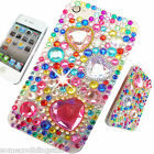 NEW 3D BLING COOL DELUX PINK DIAMANTE CASE COVER 4 IPHONE 3gs 4 4s 5 5s 5c 6 6+
