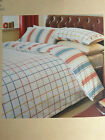 *NEXT Check Cosy Brushed Cotton Single Double King Bed Sets & Pillowcases *NEW*
