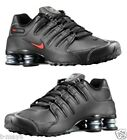 NIKE SHOX NZ MENs LEATHER M RUNNING BLACK VARSITY RED WHITE SELECT NEW SIZE