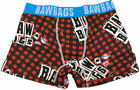 BawBags Rotten Boxers - Red Tartan/Blue