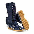 Joules Woodhurst Navy Blue Quilted Country Wellies Boots - Sizes UK 3-8 Free p&p