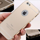 Luxury Aluminum Ultra-thin Metal Case Back Cover Skin For iPhone 6 Plus 4.7 5.5