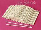 Cake Pop Sticks, Lollipop Sticks die LANGEN aus Papier 15 cm x 0,4 cm