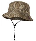 DRAKE Waterfowl Systems Refuge HyperShield Waterproof Camo Boonie Sun Bucket HatHats & Headwear - 159035