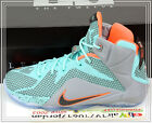 Nike Lebron XII GS 12 NSRL Hyper Turquoise Grey Green 685181-302 US 4~7Y Youth