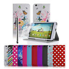 Tesco Hudl 2 8.3 Inch PU Leather Case Cover Stand With Screen Protector & Stylus
