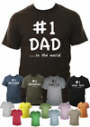 No 1 Dad / Grandad / Brother / Uncle Mens T-Shirt Small - XXL Various Colours